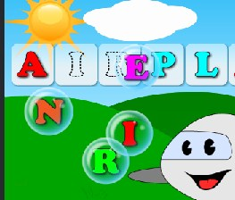 Play Word Bubbles for Kids Game