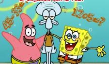 Play SpongeBob Maths Test Game