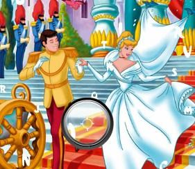 Play Princess Cinderella Hidden Alphabets Game