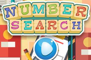 Play Number Search Game