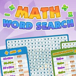 Play Math Word Search Game