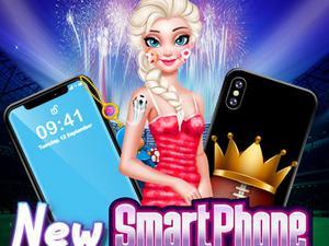 Play Elsa Smartphone Decoration Game