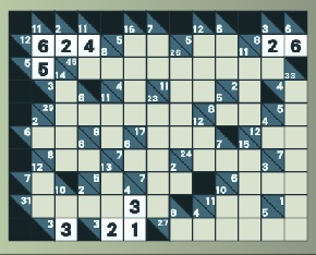 Play Kakuro Puzzle Online Game