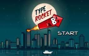 Play Type Rocket Game