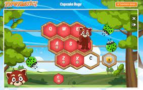 Play TypeTastic Cupcake Bugs Game