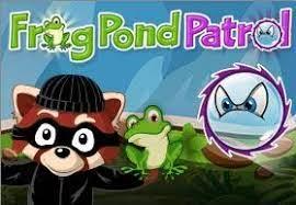 Play TypeTastic Frog Pond Patrol Game