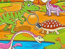 Play Dinosaurs World Hidden Miniature Game