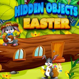 Play Hidden Objects Easter Game