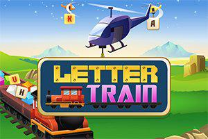 Play Letter Train Game