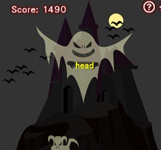 Play The Typing of the Ghosts Game