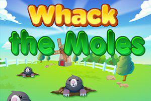 Play Whack The Moles Game