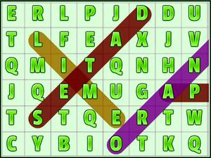Play Word Search Fruits Game