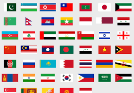 Play Asia Flags Game