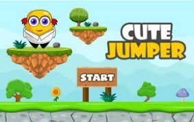 Play Cute Jumper Typing Game
