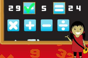 Play Elementary Arithmetic Game