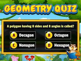 Play Geometry Quiz Game