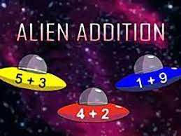 Play Alien Addition Game